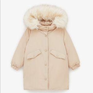 Zara Puffer jacket size 11-12 years old